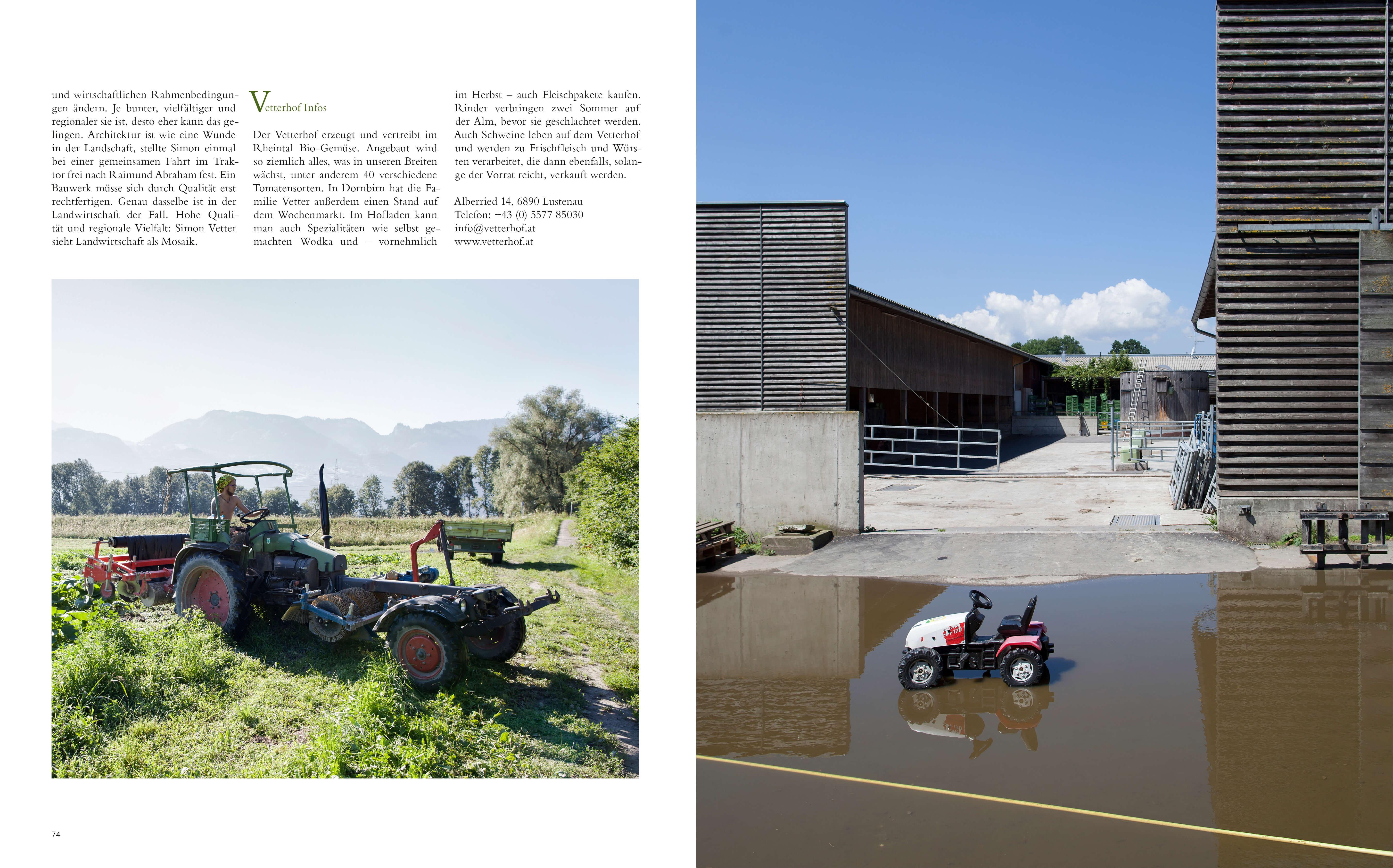 Ab Hof kochbuch, Bauernhof, Simon Vetter