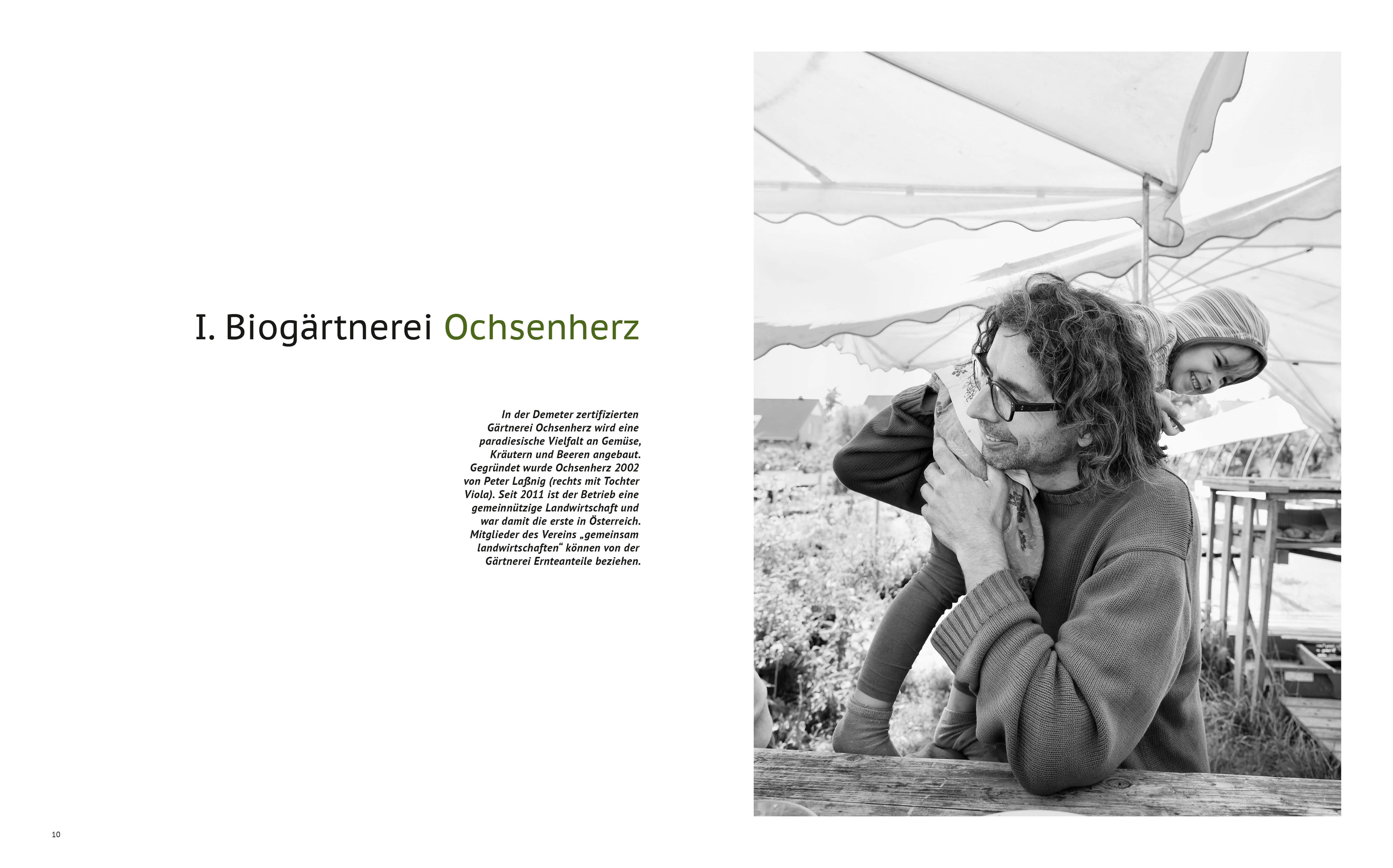 Peter Laßnig, Ochsenherz, Ab Hof Kochbuch